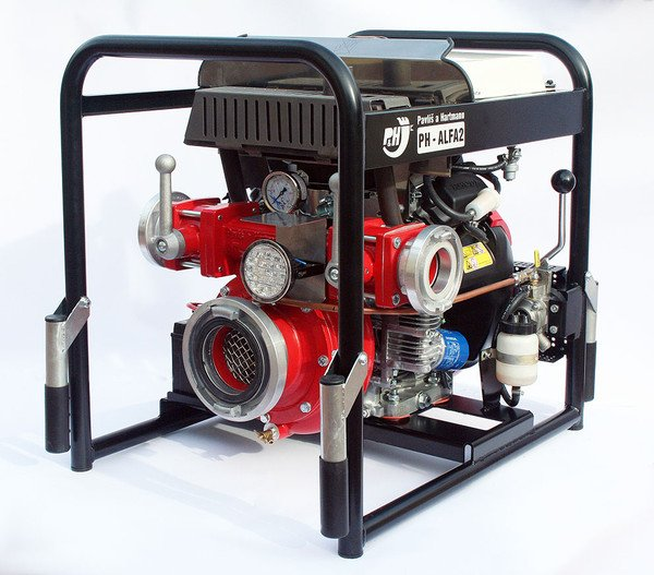 PH-ALFA 2 Fire Fighting Pump With Mechanical Vacuum Pump