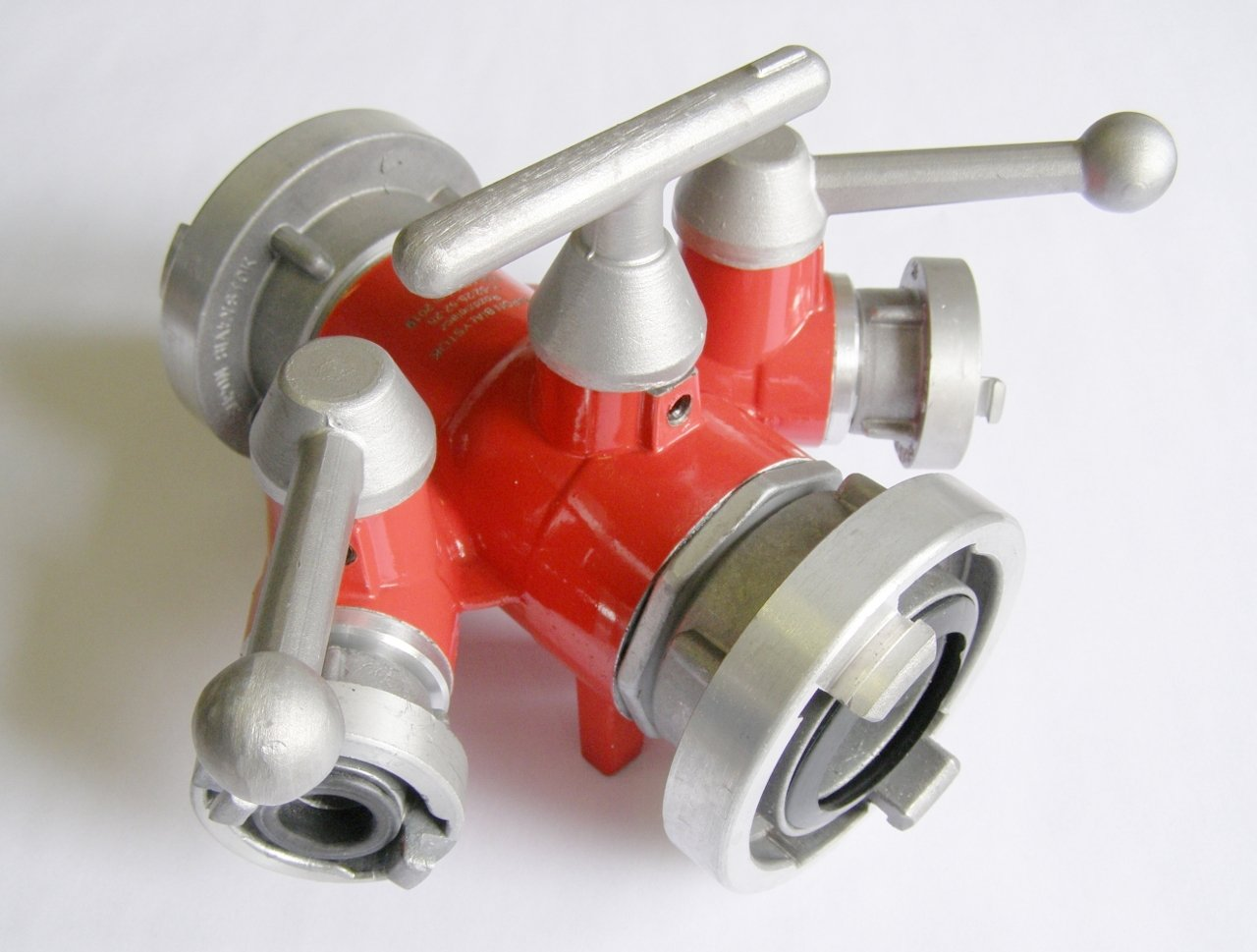Distributor with ball valve B – CBC