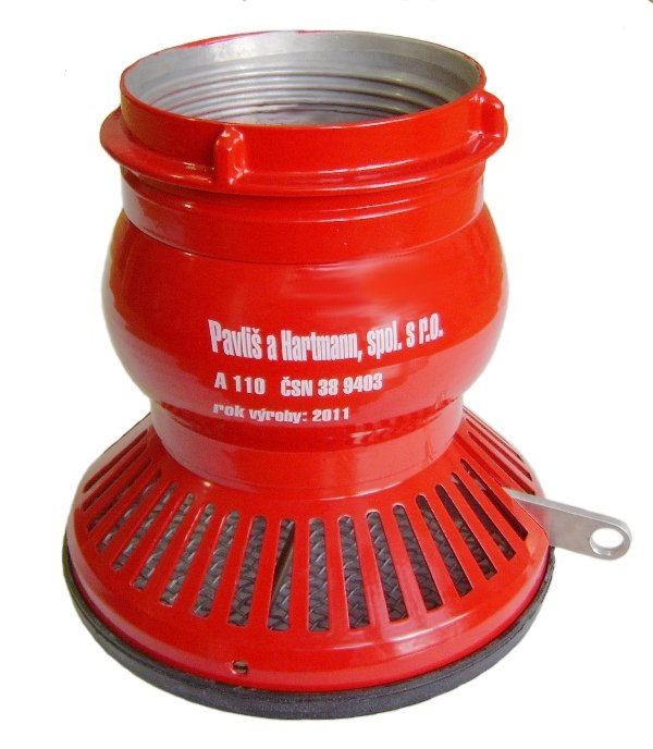 PH – Sport suction strainer with a flap