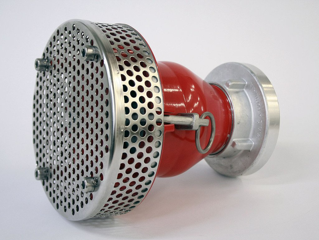 Suction strainer PH B75 with a non-return valve