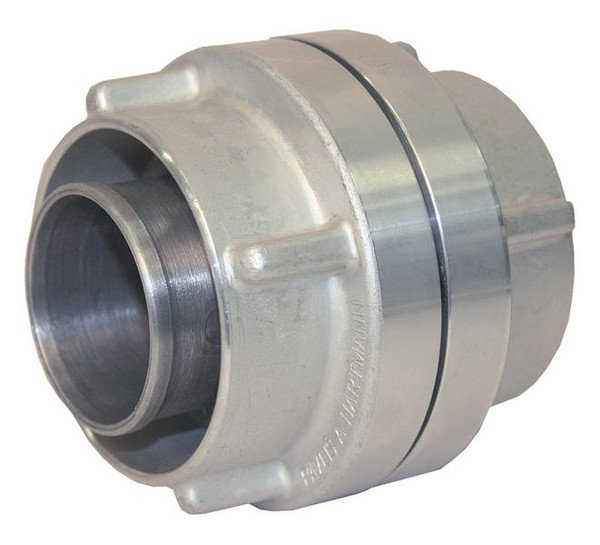 Forged fire hose coupling C52 Al