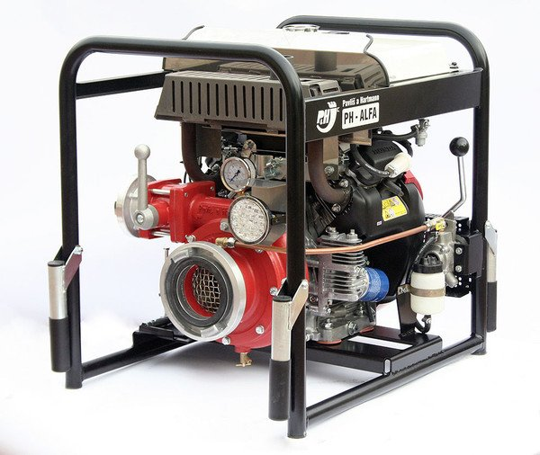 PH-ALFA Fire Fighting Pump With Mechanical Vacuum Pump